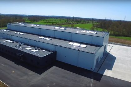 Завод спиральных теплообменников в Невере (Франция)